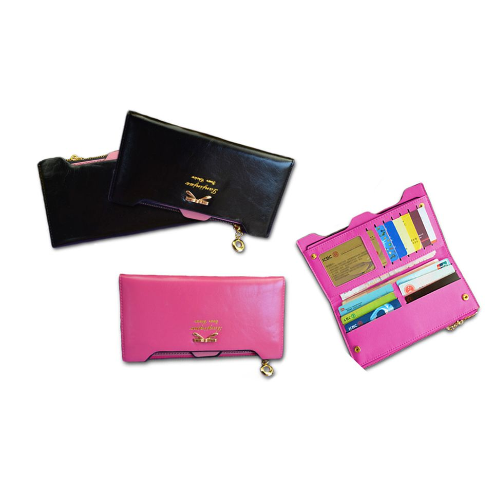 96009a80a1 Πορτοφόλια - Γυναικείο Πορτοφόλι με Θήκες για Κάρτες (10556) μόνο ...